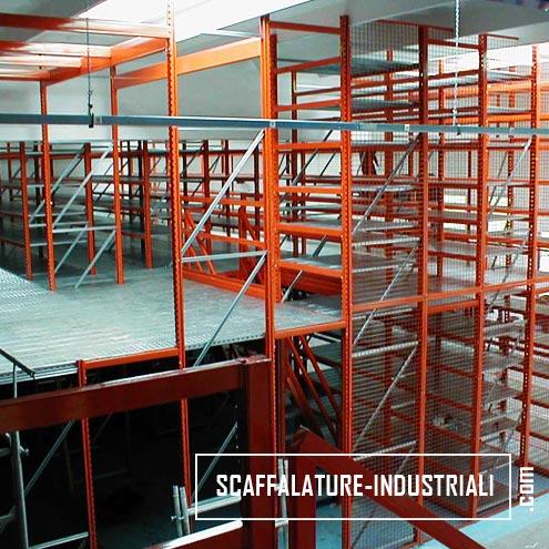 Scaffalature-Industriali-passerella